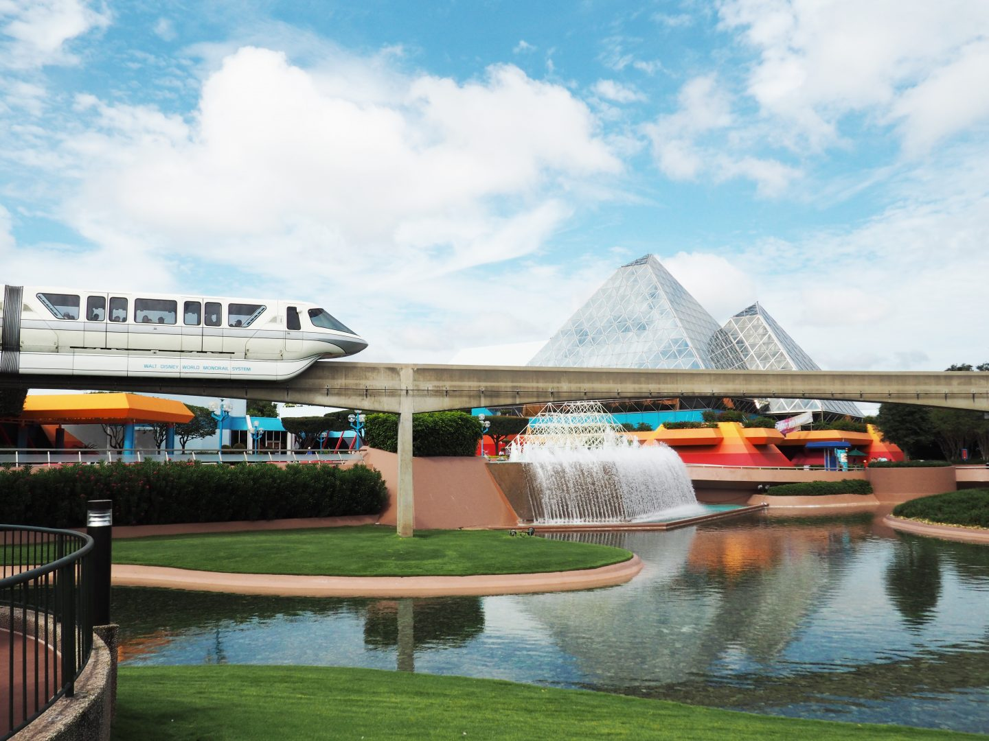 Monorail, disney monorail, disney transportation,
