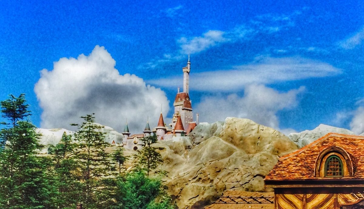Beasts Castle, walt disney world best photo spots