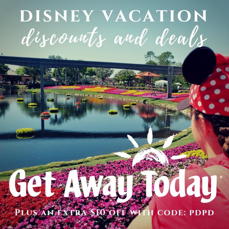 Discounts and Deals for Disney Vacations to Disneyland, Walt Disney World, Disney Aulani and Disney Cruises. Discounts also available for Universal Studios! #polkadotpixies #getawaytoday #disneyvacations #universalvacations #familyvacations #traveldeals