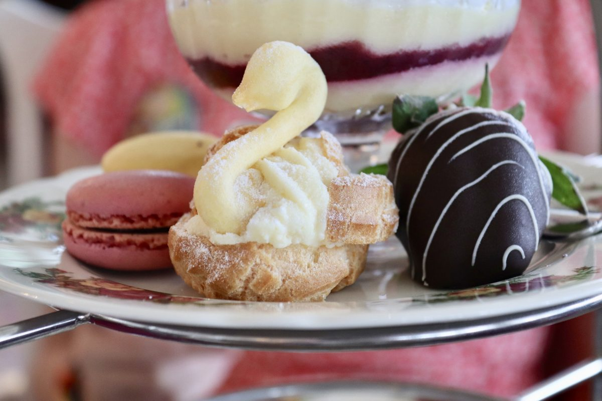 afternoon tea garden view lounge, grand floridian resort and spa, disney afternoon tea