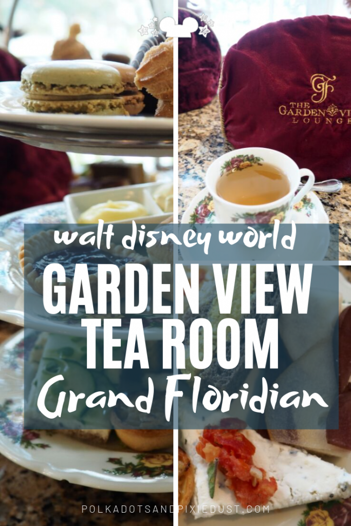 Afternoon Tea at the Garden View Tea Room at the Gran Floridian Resort, Walt Disney World is a perfect treat to get away from it all and add a little luxury to your Disney Vacation. Here's everything to know! #disneytea #disneyprincesstea #granfloridian #disneyrestaurant #polkadotpixies