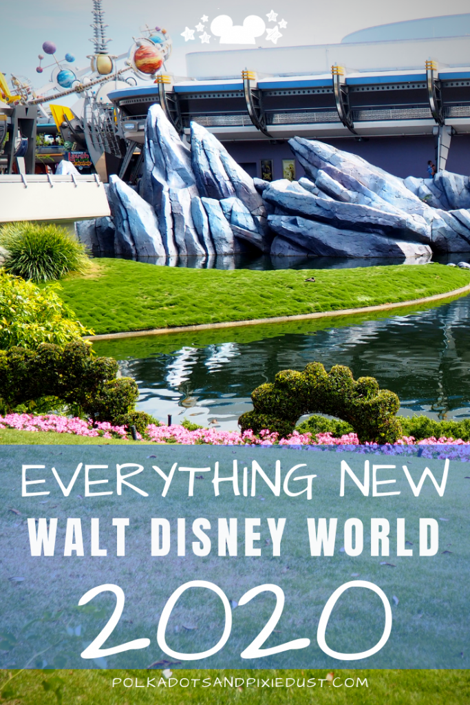 Everything coming to Walt Disney World in 2020. New restaurants, rides and shows. Everything we know so far. Post UPDATED regularly! #polkadotpixies #Disney2020 #Waltdisneyworld #disneyvacations