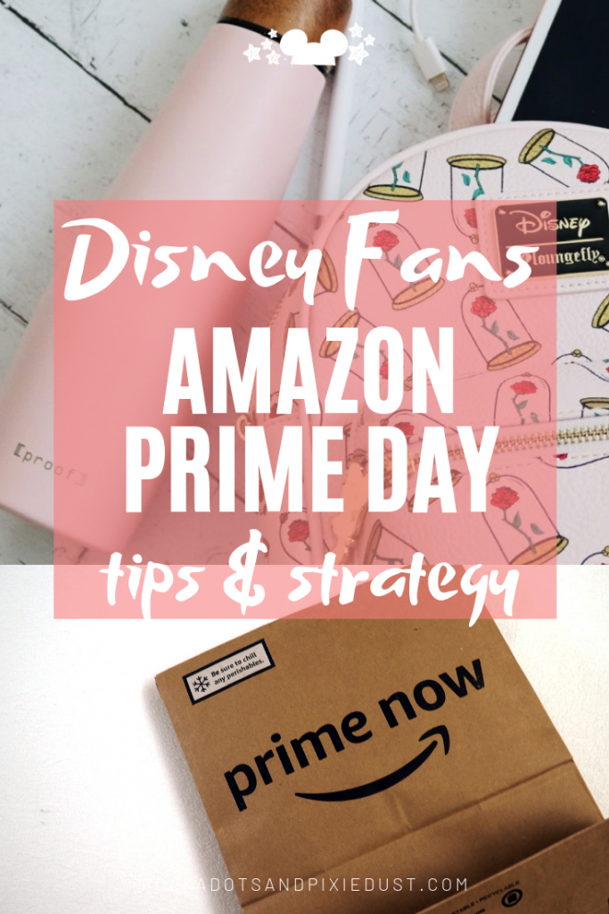 Everything you Need to Know about Amazon Prime Day Sales. Plus our Favorite Disney thinsg to keep an eye on while you shop! Prime Day Tips and Tricks, for Disney Fans and Travelers. #disneydeals #primeday #polkadotpixies #disneygifts