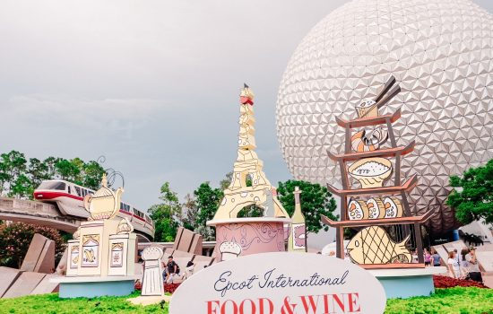 Top 5 Tips to Surviving Epcot's Food & Wine Festival 2019