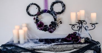 Haunted Mansion Inspired Mantle