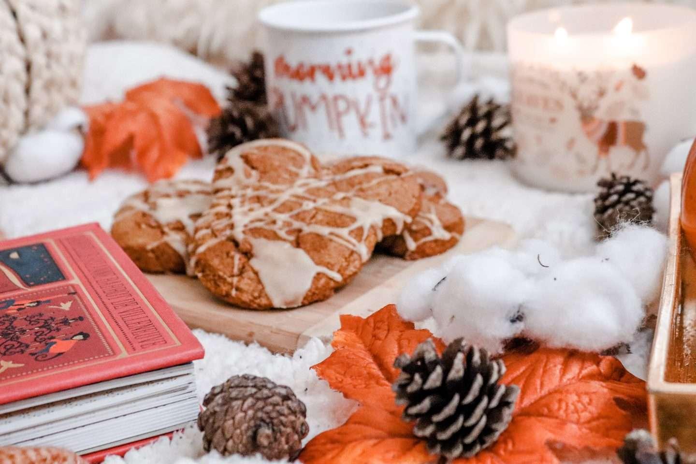 Mickey Pumpkin scones, fall at home disney, disney fall, disney fall treats, disney at home, disney home, disney treats