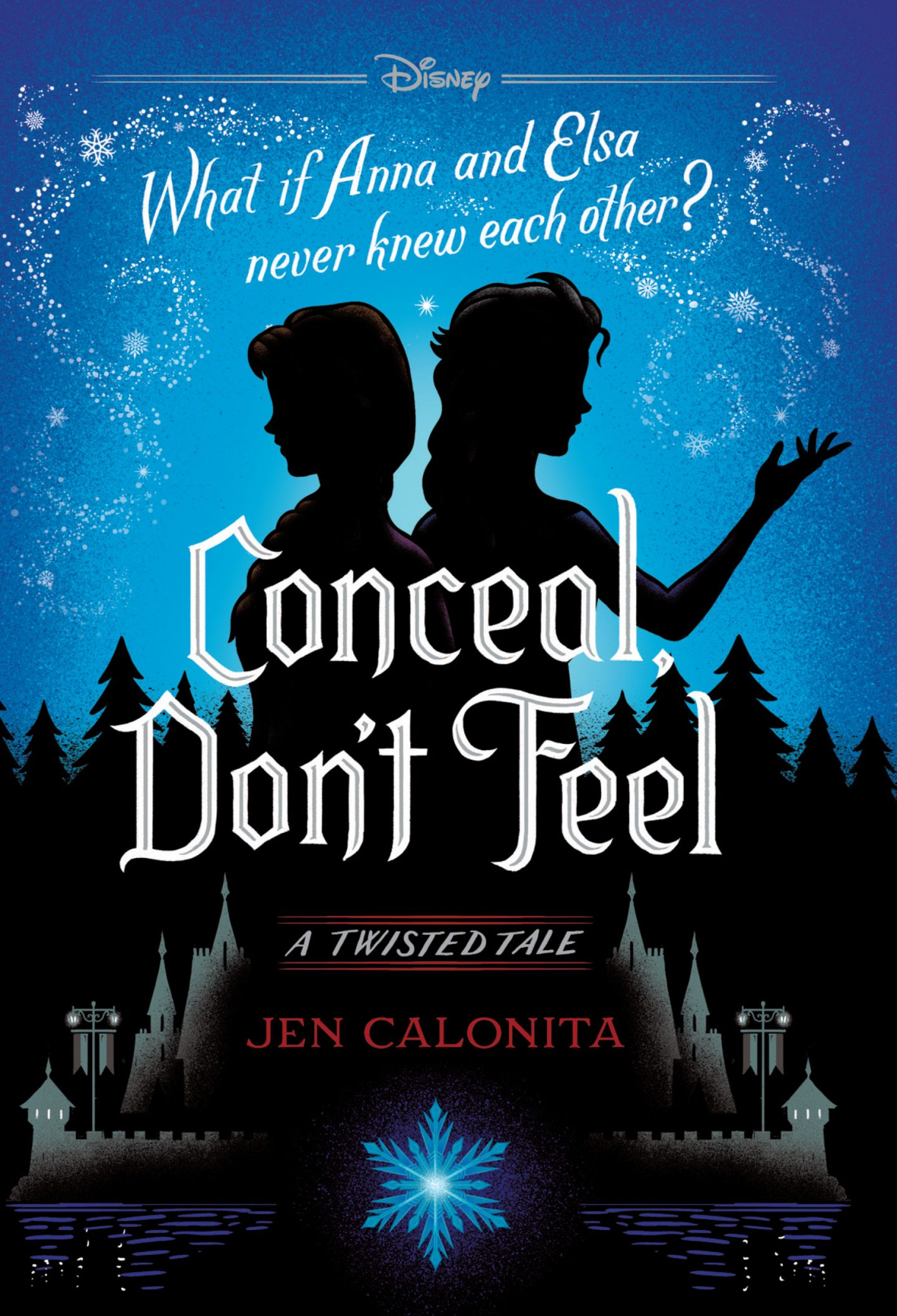 Conceal don't feel frozen book disney book group
