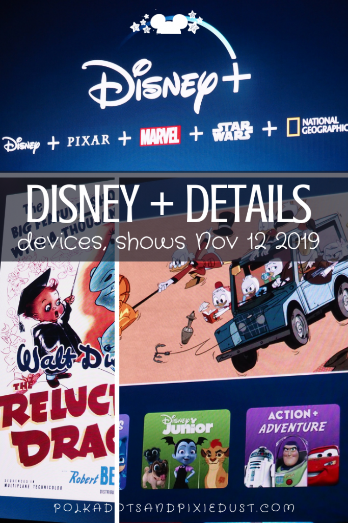 Disney plus shows, details, costs and devices. Everything you need to know. #polkadotpixies #disneyplus #disney+ #disneystreaming