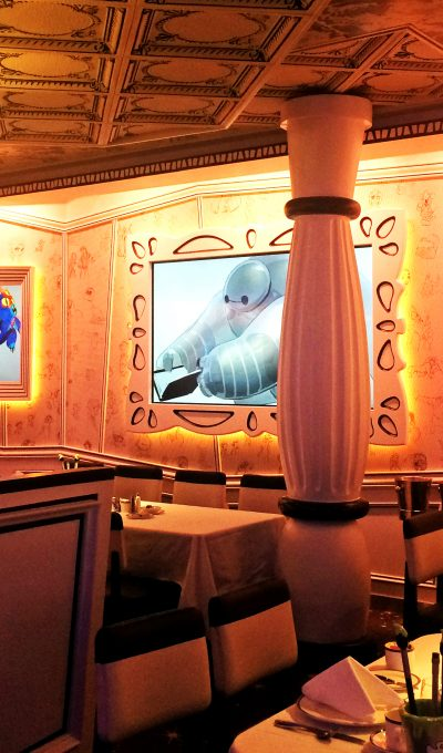 Dining on the Disney Wonder Cruise