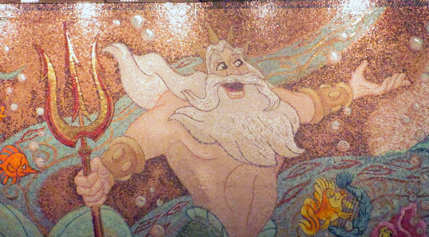 tritons on the disney Wonder