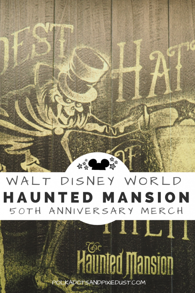 Haunted Mansion celebrates it's 50th Anniversary this year! Here's all our favorite Haunted Mansion Merchandise to celebrate at shopDisney! and the Disney Parks. #hauntedmansion #disneyshopping #disneyhauntedmansion #disneyanniversary