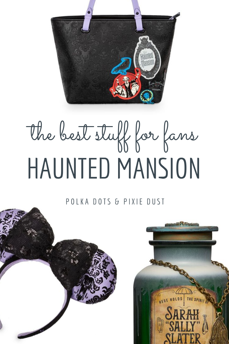 All our favorite Haunted Mansion merchandise for the 50th anniversary! #hauntedmansion #disneyshopping