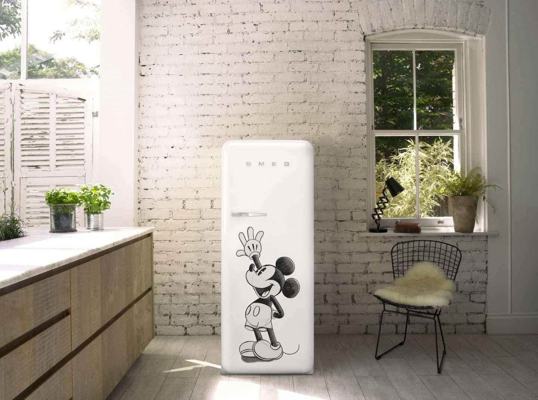 SMEG Mickey Refrigerator Williams Sonoma Exclusive