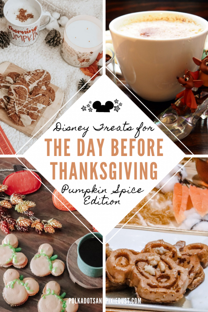 Mickey Treats for the Day Before Thanksgiving to help you get through the crazy baking day and prep for the holiday! #mickeysnacks #disneyrecipes #pumpkinspicerecipes #thanksgivingfamily #thanksgivingtreats