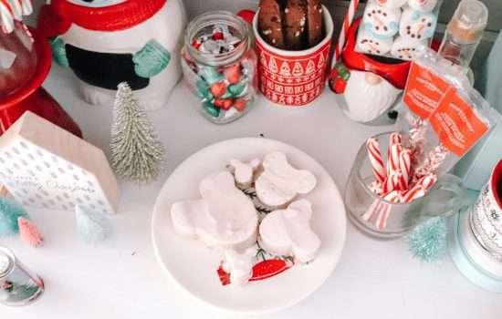 Mickey Gingerbread Marshmallows