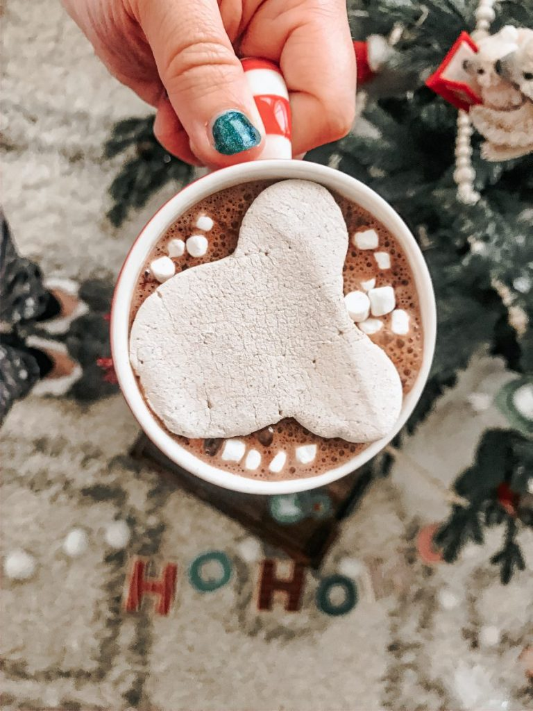 Mickey Gingerbread Marshmallow