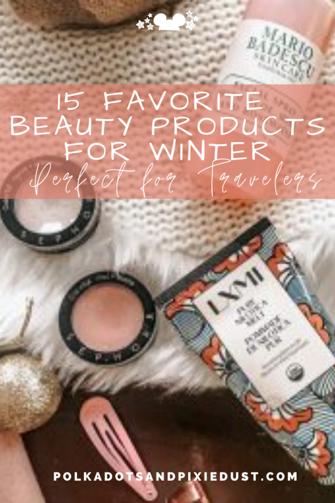 Travel Beauty Products To Keep Skin Moisturized and Refreshed through the stresses of the holidays and winter months. #beautyproducts #travelbeauty #makeup