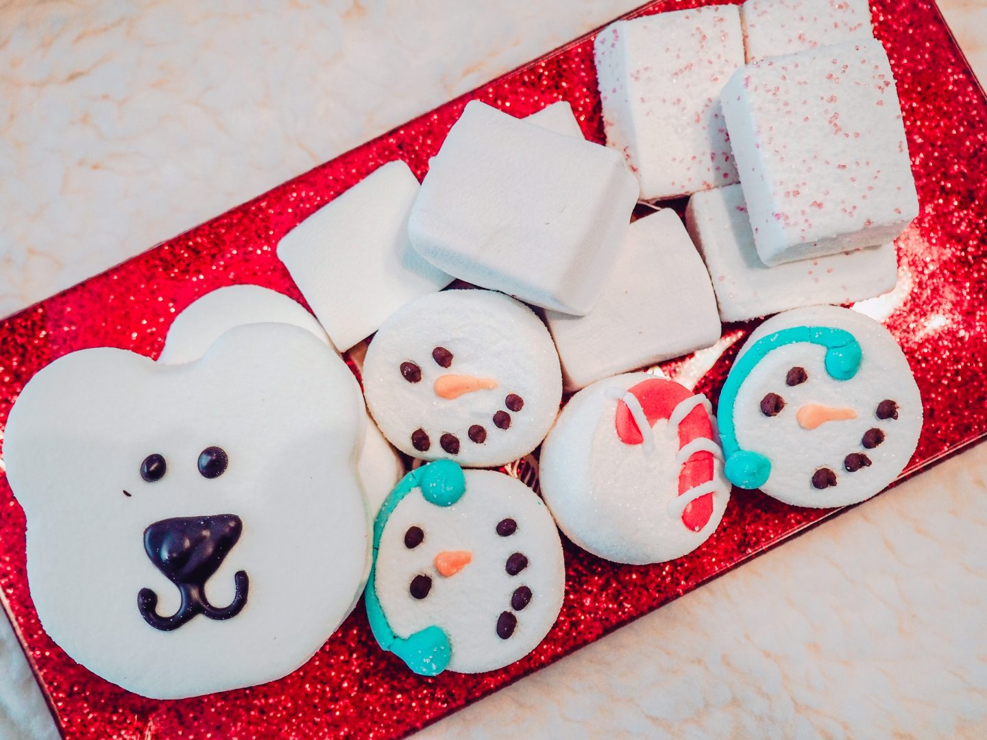 Christmas Cookies and Cocoa Charcuterie Board