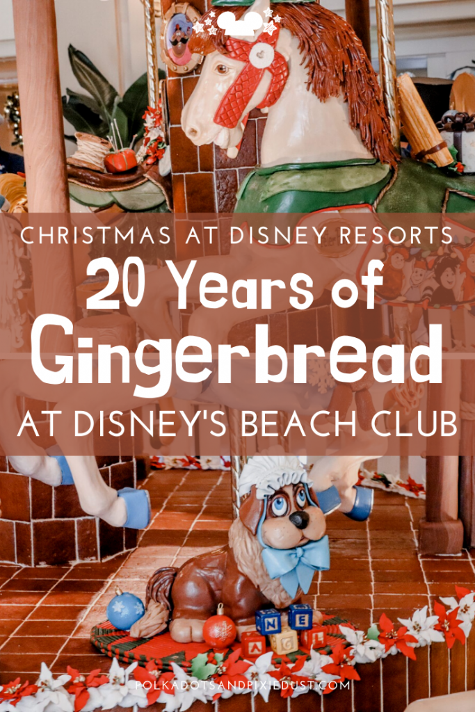 Gingerbread Carousel at Walt Disney World Beach Club Resort