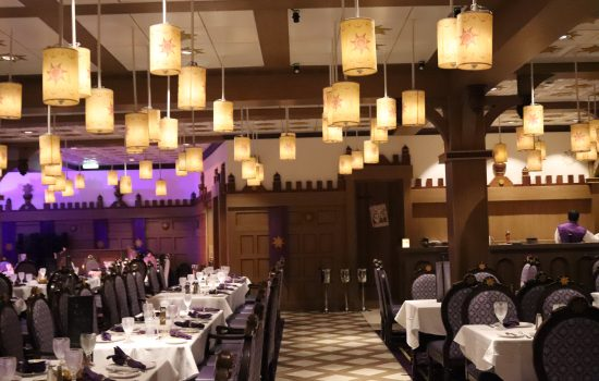Rapunzel's Royal Table Disney Magic Cruise Restaurant Review