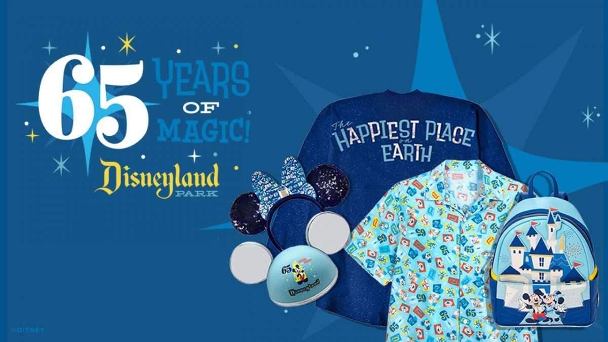 Disneyland 65th anniversary merchandise 2020