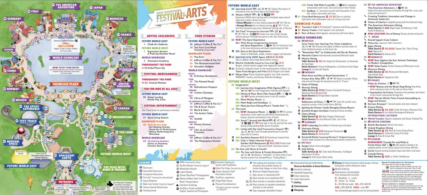 Epcot International Festival Of The Arts A Guide