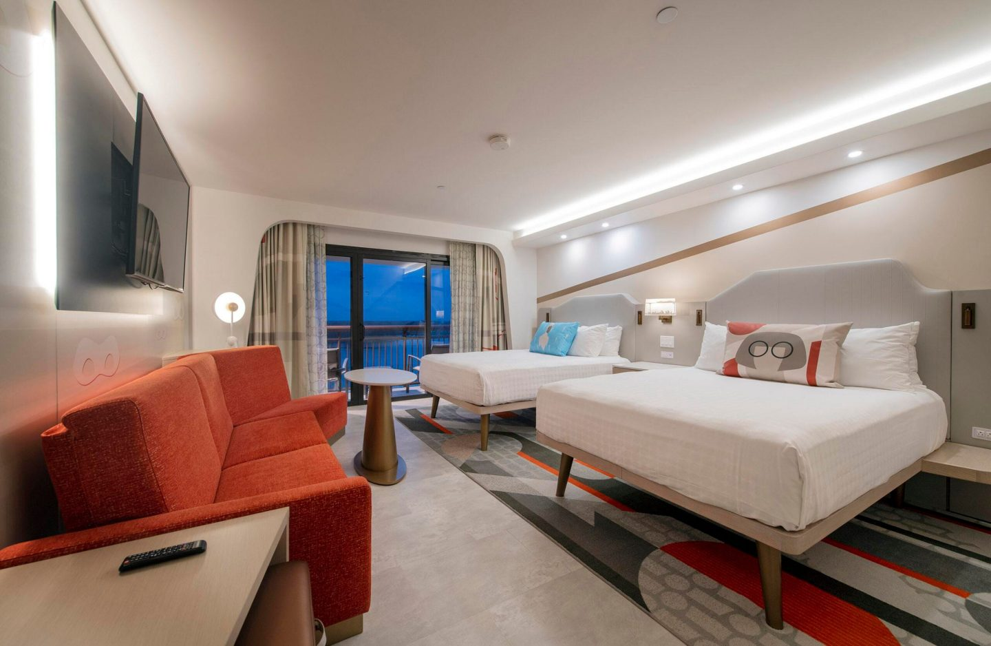 The Incredibles Rooms at Disney's Contemporary Resort
