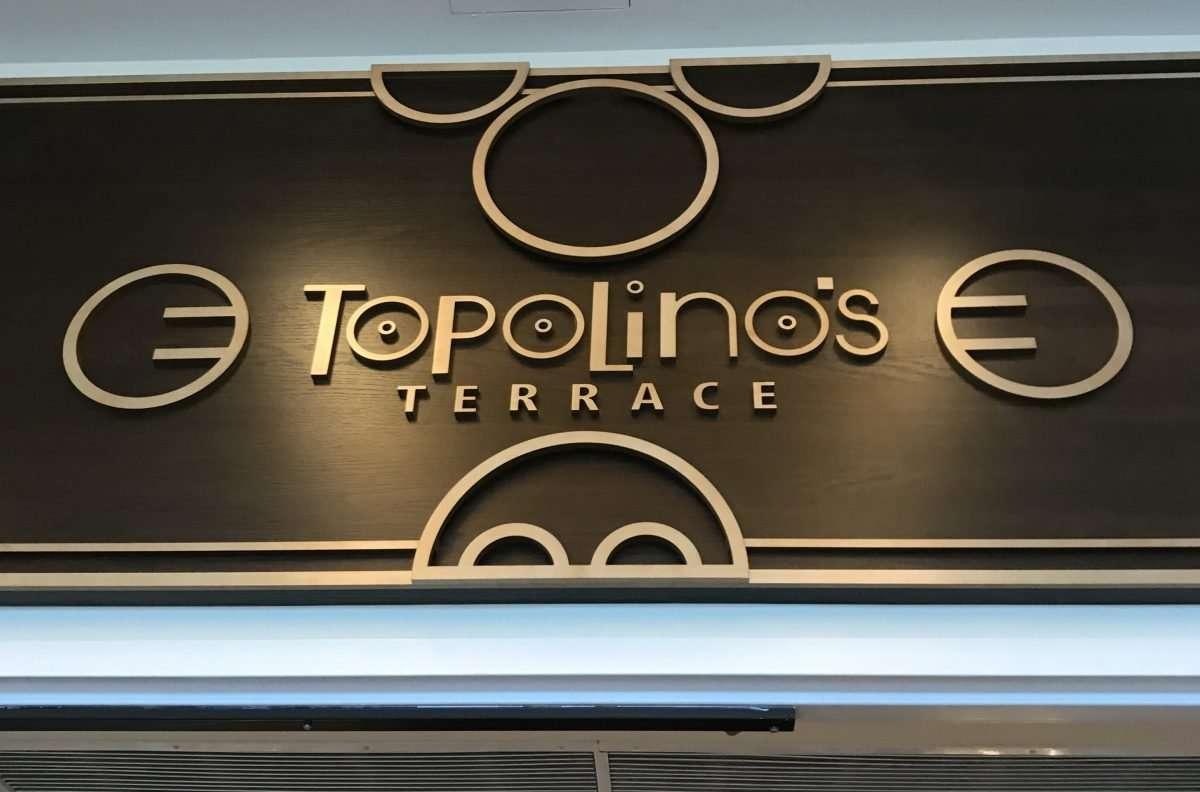 Topolino's Terrace Character Breakfast at Walt Disney World