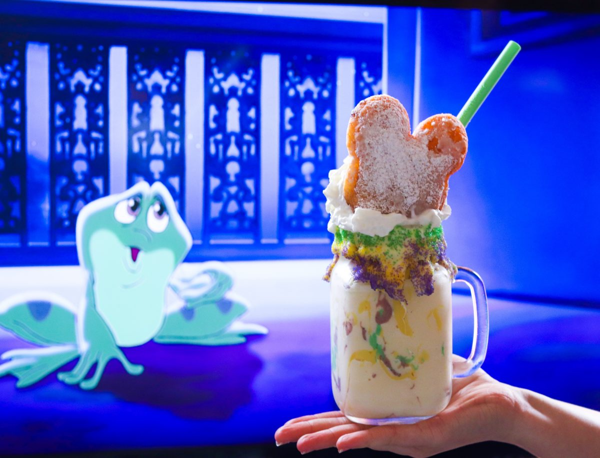 Mickey Beignet Mardi Gras Milkshake