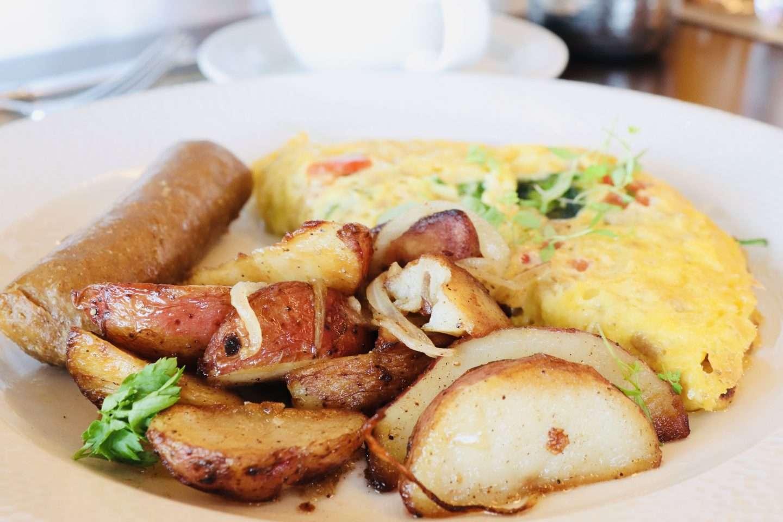Topolino's Terrace Breakfast