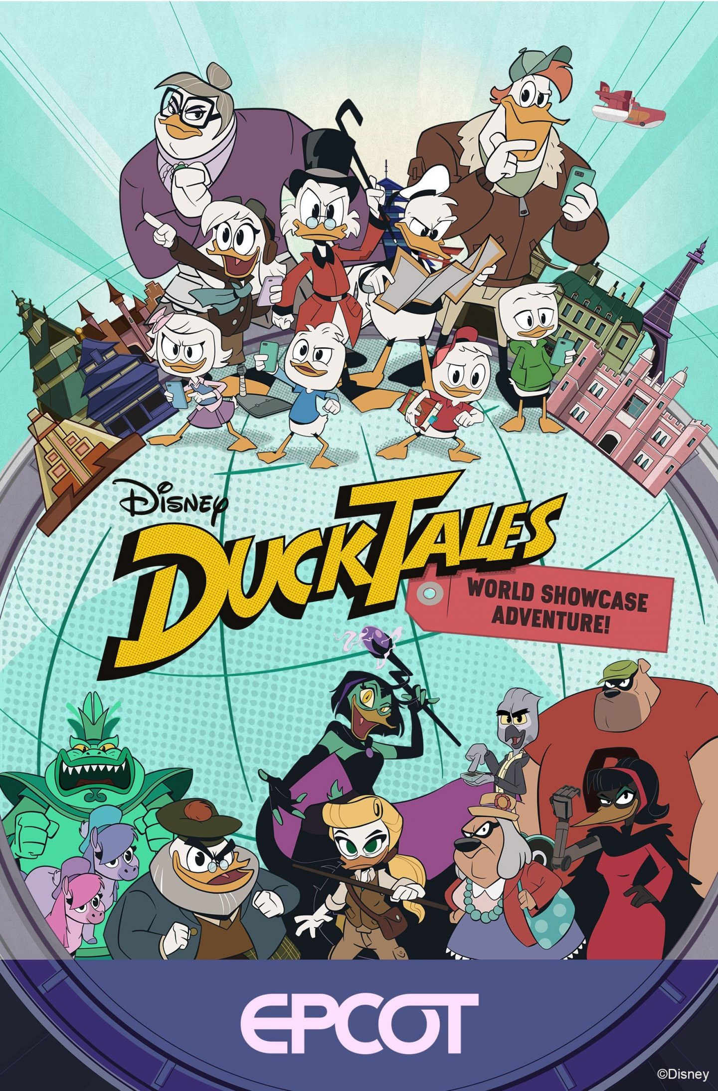 ducktales 50th Anniversary Plans at Walt Disney World