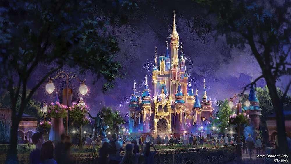 Disney World 50th Anniversary 2021 The World's Most Magical Celebration