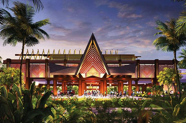 Walt Disney World Polynesian Resort Refurbishments
