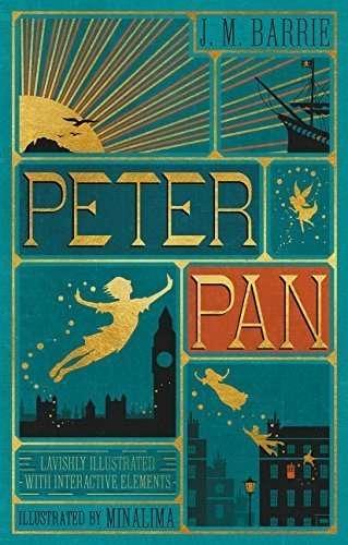 disney peter pan collectors book