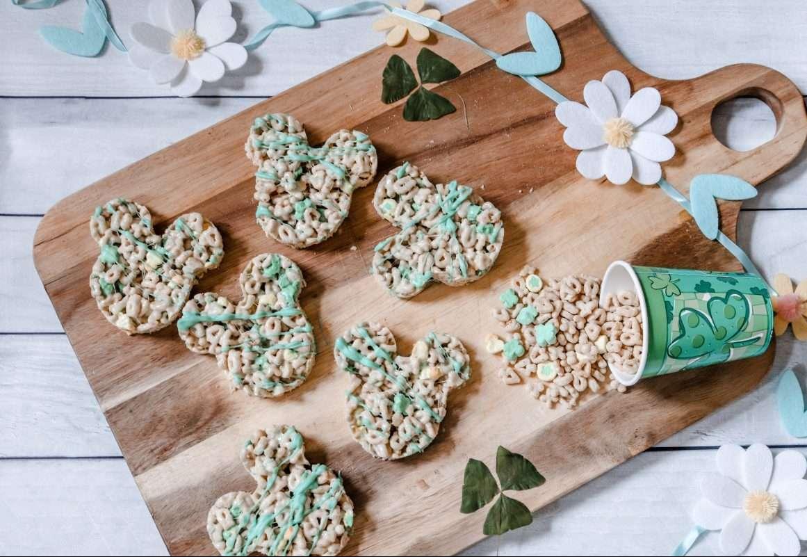 St. Patrick's Day Mickey Treats