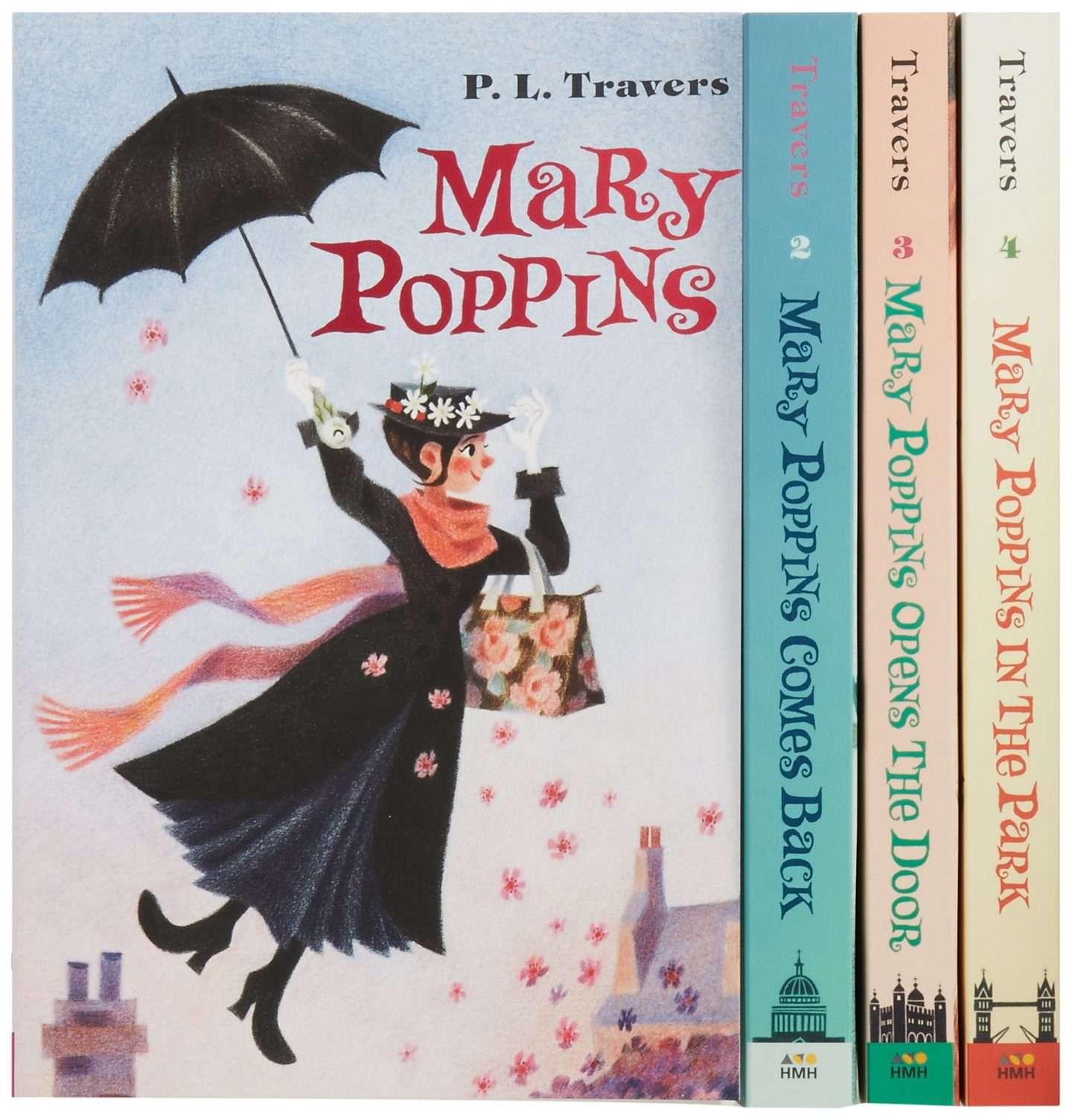 mary poppins disney book set
