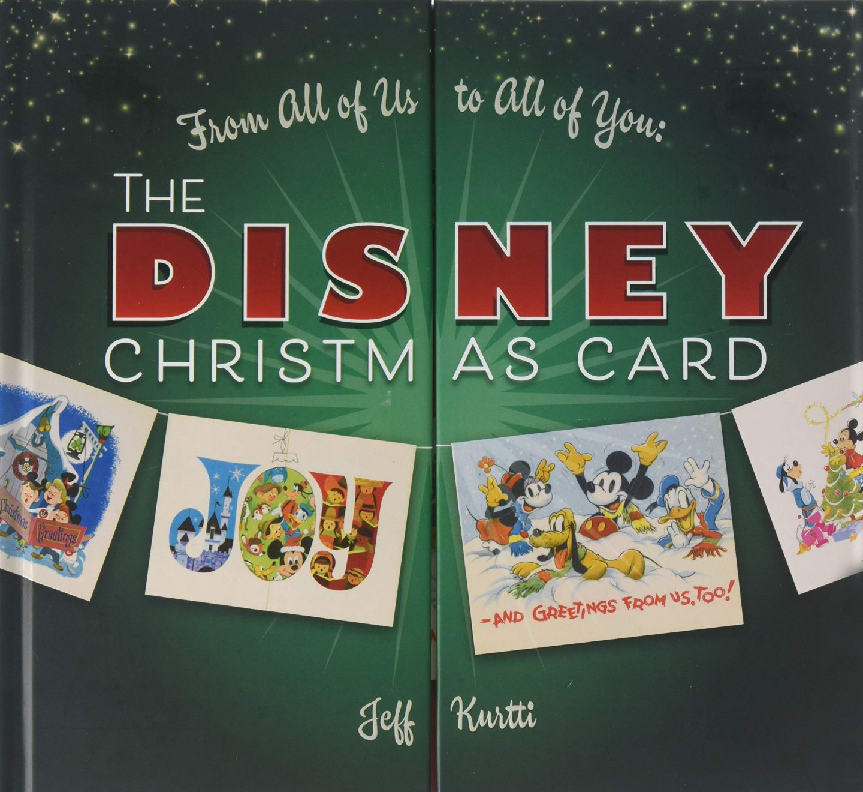disney christmas card books