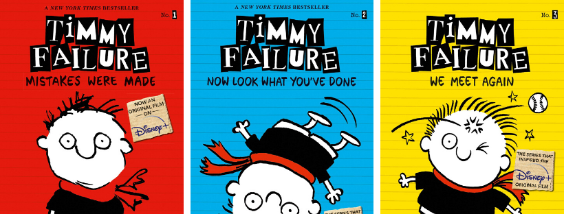 timmy failure disney books for tweens