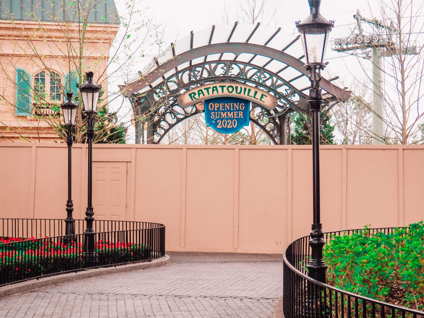 Remy's Ratatouille Adventure in Epcot France Open Summer 2020