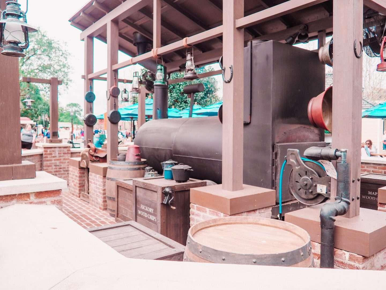 regal eagle smokehouse barbecue at Epcot World Showcase Walt Disney World