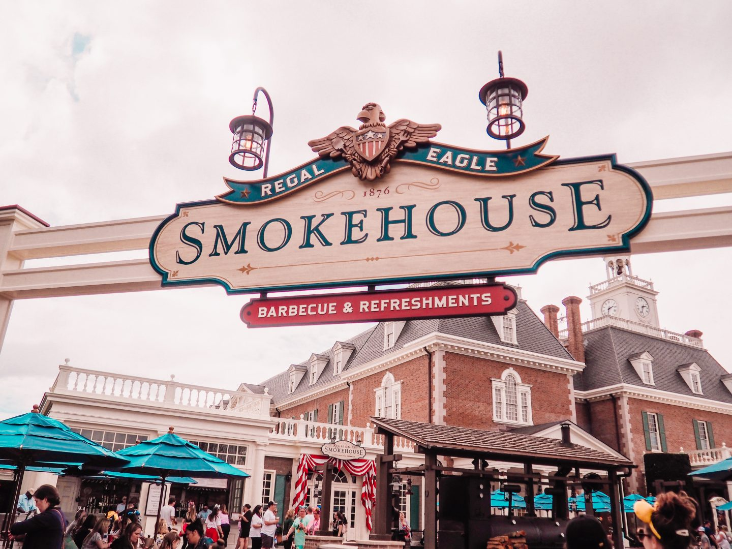 Regal Eagle Smokehouse BBQ and Craft Beers at Epcot Disney World