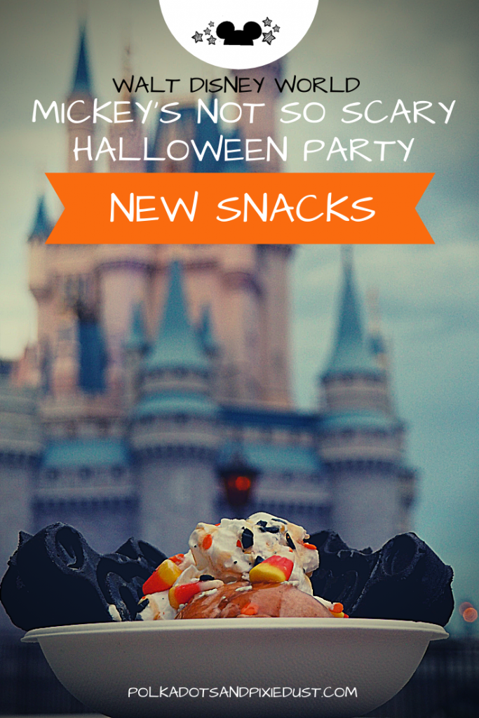 Halloween at Walt Disney World combines amazing fun, fireworks, parade, decorations and snacks@ So many Disney Snacks! Check out all the new Disney Halloween Snacks this year!#disneyhalloween #disneysnacks #halloweensnacks
