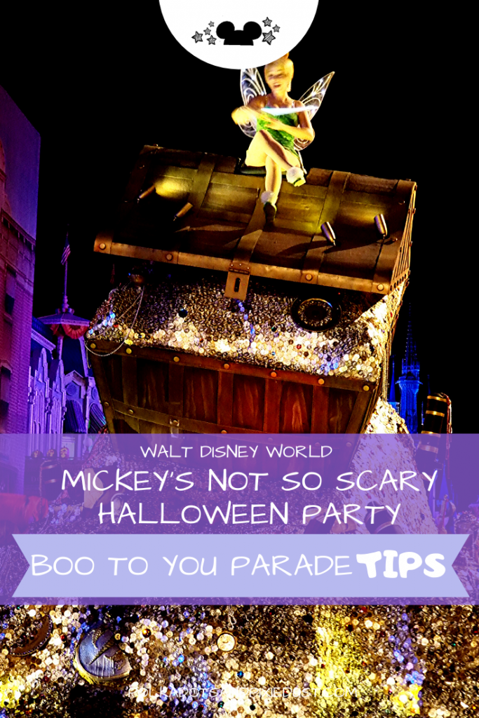 Mickey's Not So Scary Halloween Party at Walt Disney World for Halloween is the best! With the Boo to you Parade, fireworks, Disney snacks and halloween decorations galore. Here is everything you need to know about MNSSHP #disneyworld #mnsshp #disneyhalloween #polkadotpixies #disneyvacation