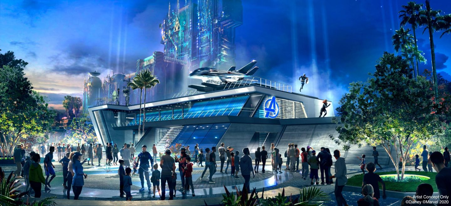 Avengers CAmpus Open summer 2021 at Disneyland