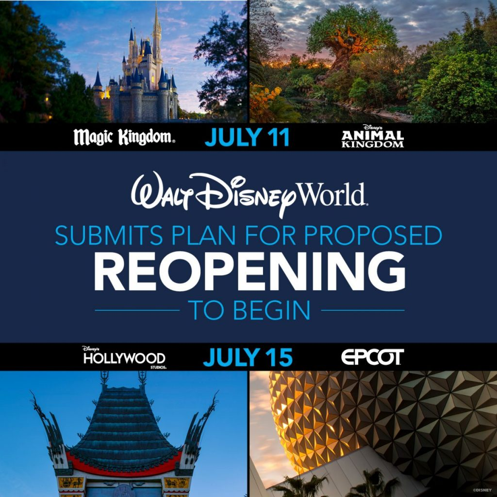 walt disney world reopening dates 2020 walt disney world changes disney closed disney rules