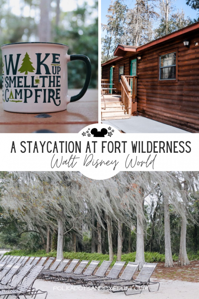 Fort Wilderness Resort and Campgrounds at Walt Disney World is one of the FIRST places to open at Disney. So why not take a trip and make a Staycation of it? Here's all the reasons we think Fort Wilderness is Perfect for a Staycation at Disney. #disneyresorts #fortwilderness #waltdisneyworld