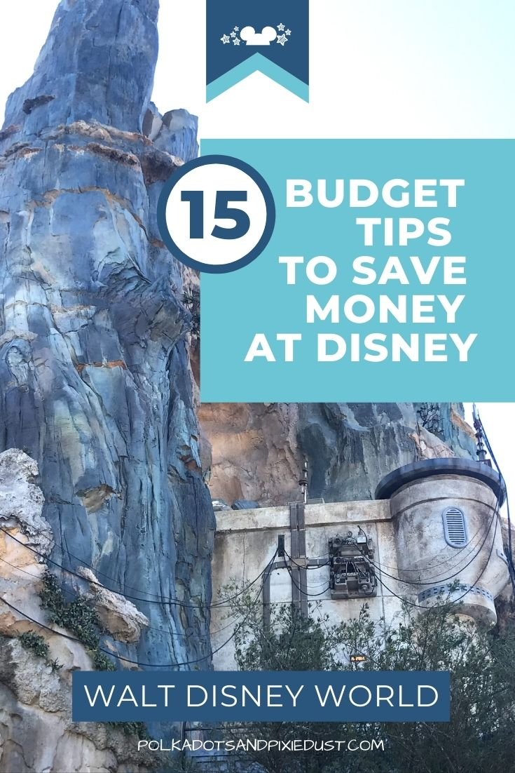 Stick to a Disney Vacation Budget with these 14 tips! From booking a cheaper vacation to cutting costs where it counts, here are all the ways you stay on budget for your Disney Vacation. #disneyvacation #disneybudget #sticktoabudget #disneyvacationbudget