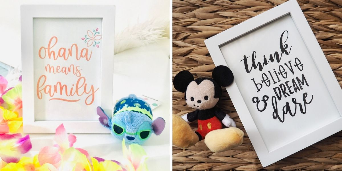 home decor disney printable wall art disney inspired