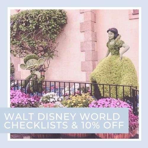 Walt Disney World Free Ebook and Park Checklists Plus 10% off polkadotpixieshop.com