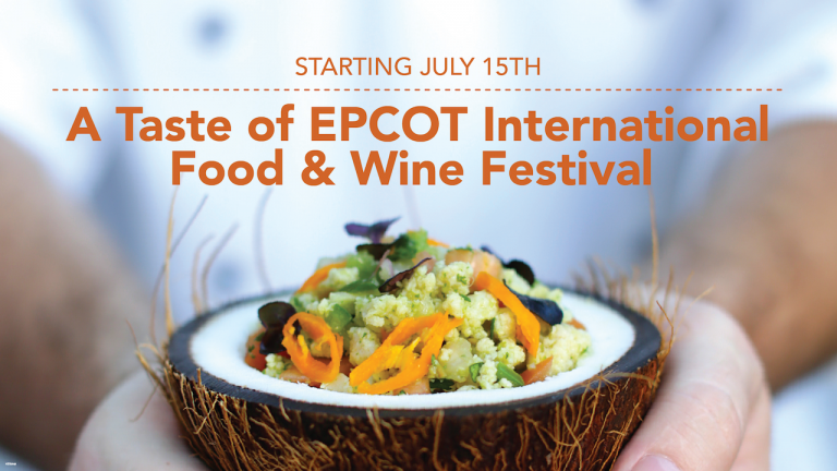 A Taste of Epcot International Food and wine festival 2020